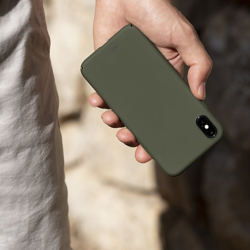 Tunt iPhone X Designskal V2  - Majestic Green