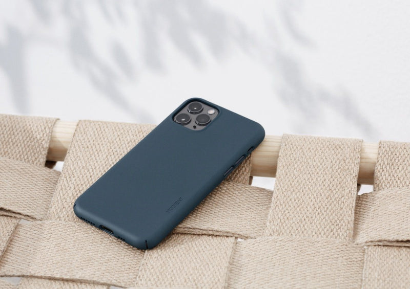 Nudient - Tunt iPhone 11 Skal V3 - Midwinter Blue