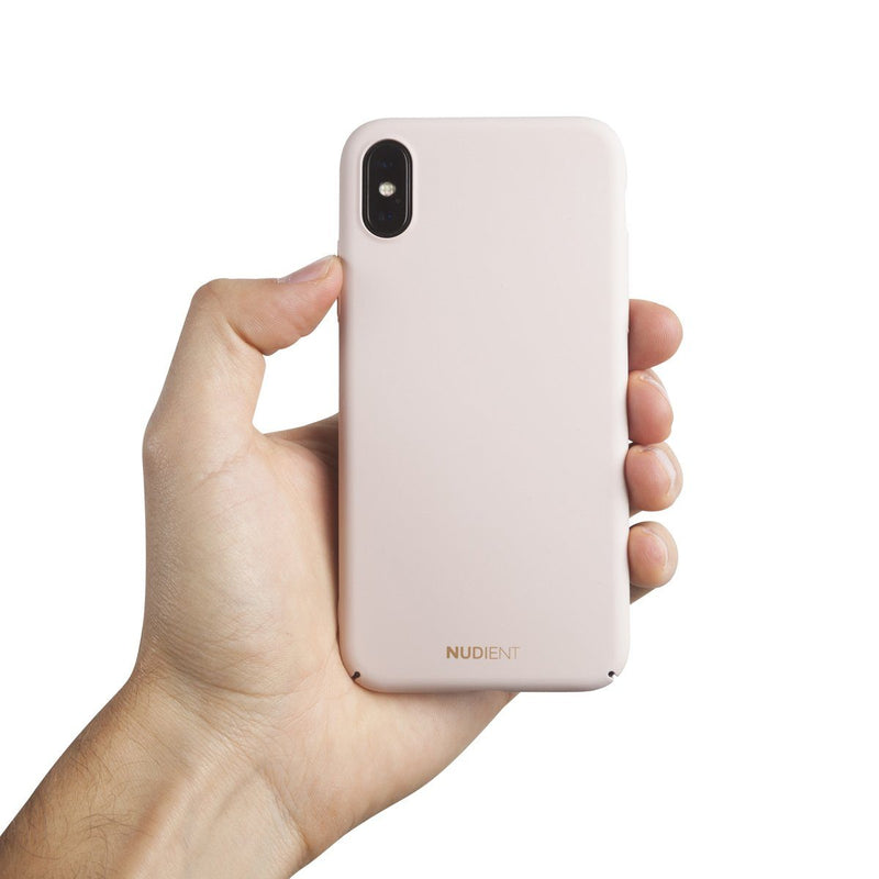 Tunt iPhone XS Designskal V2 - Candy Pink