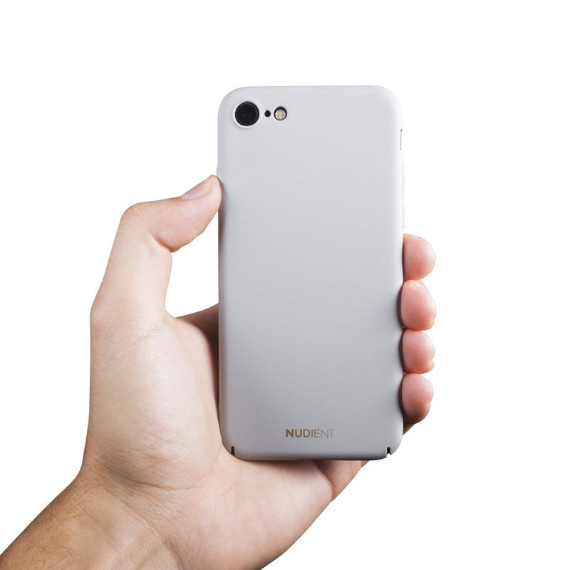 Tunt iPhone 8 Designskal V2 - Pearl Grey
