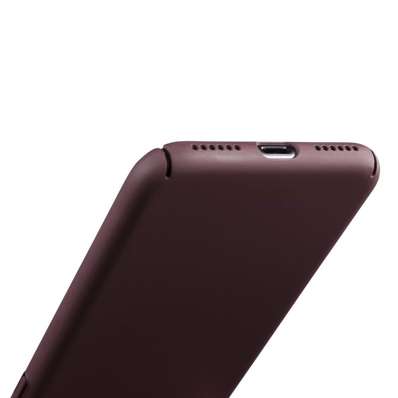 Tunt iPhone 7 Designskal V2 - Sangria Red