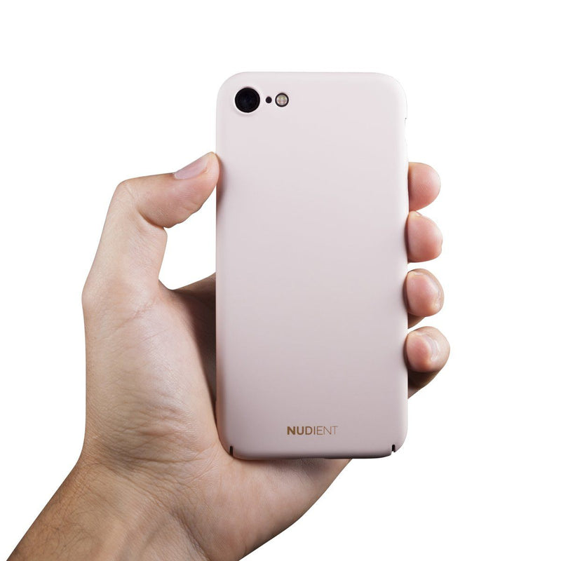 Tunt iPhone 8 Designskal V2 - Candy Pink