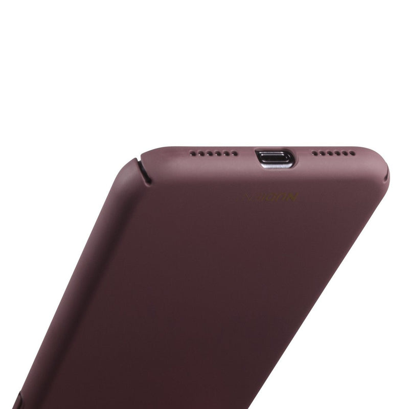 Tunt iPhone XR Designskal V2 - Sangria Red