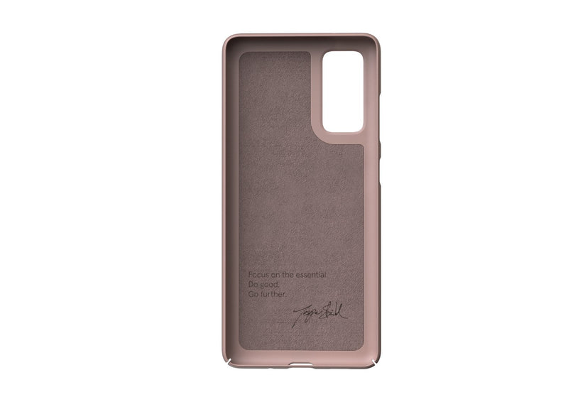 Nudient - Samsung S20 FE Skal V3 - Dusty Pink