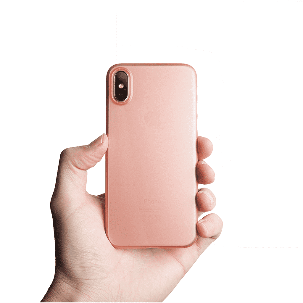 Supertunt iPhone X skal - Rose