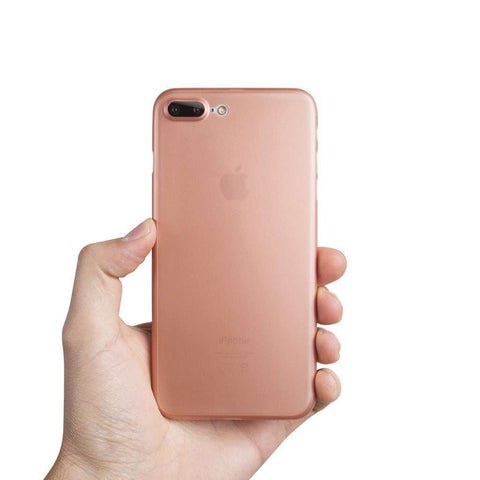 Supertunt iPhone 8 Plus skal - Rose