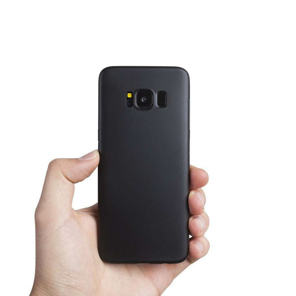 Supertunt Samsung S8 V1 skal - Solid black