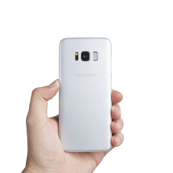 Supertunt Samsung S8 V1 skal - Frosted transparent