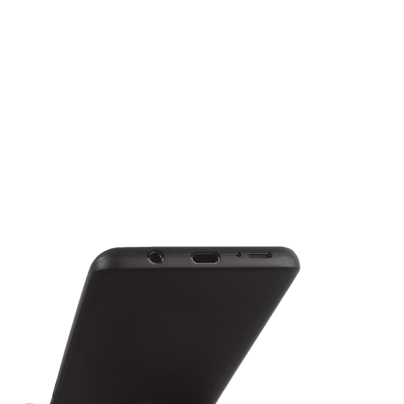 Supertunt Samsung S8 Plus V1 skal - Solid black