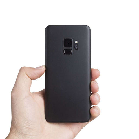 Supertunt Samsung S9 skal - Solid black