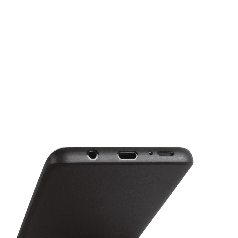 Supertunt Samsung S9 Plus V1 skal - Solid black