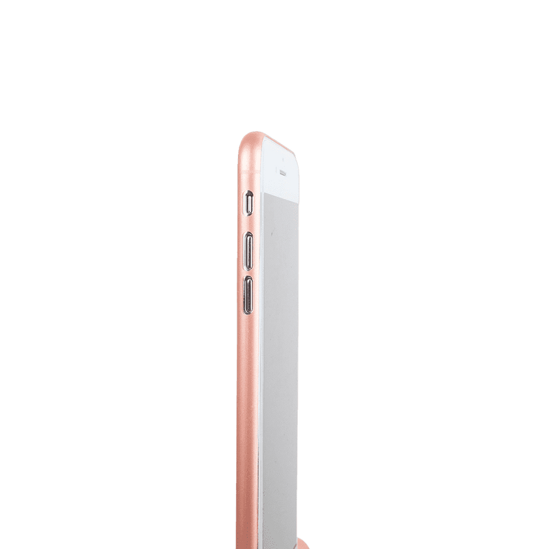 Supertunt iPhone 7 plus skal - Rosé transparent