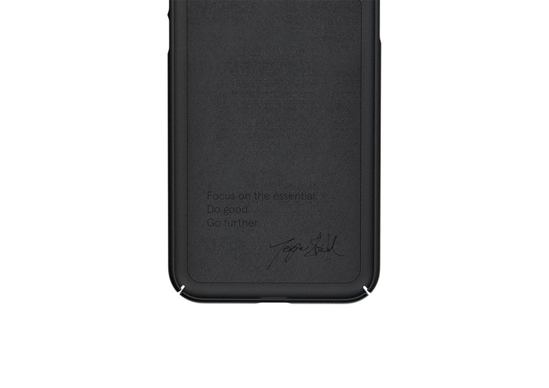 Nudient - Tunt iPhone XS Max Skal V3 - Ink Black