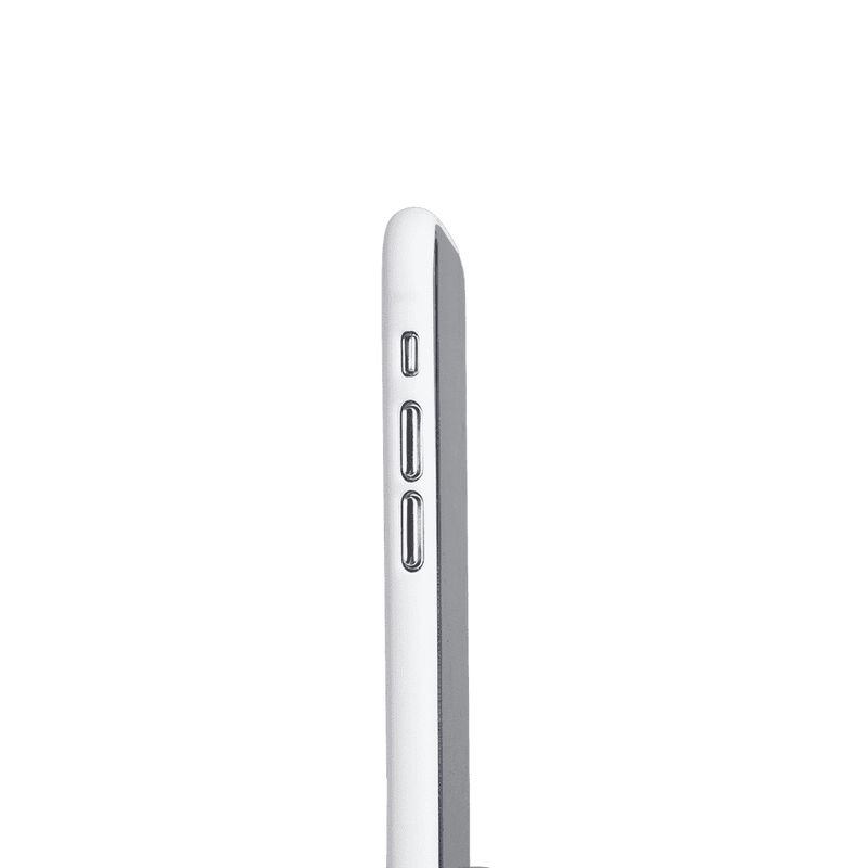 Supertunt iPhone X V1 skal - Solid white