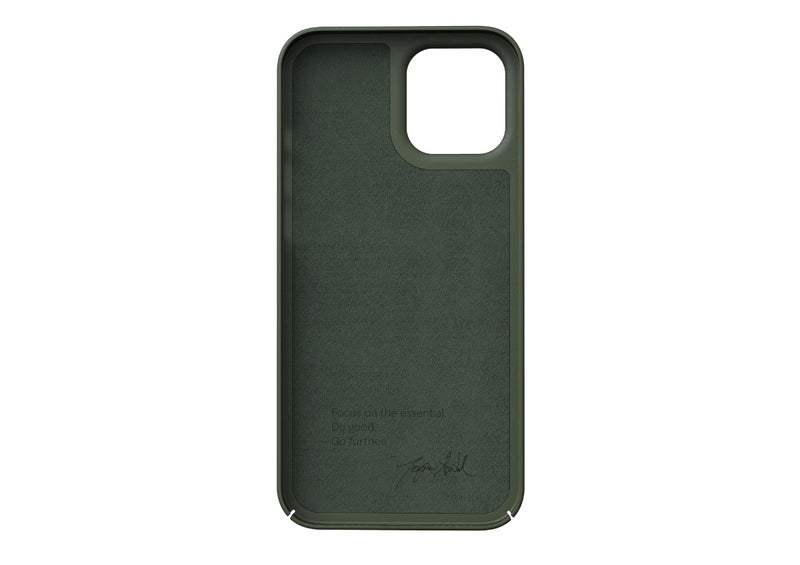 Nudient - Tunt iPhone 12 Pro Max Skal V3 - Pine Green