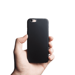 Supertunt iPhone 6s skal - Solid black