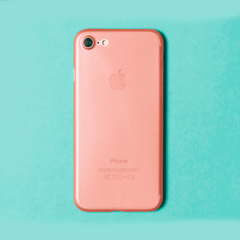 Supertunt iPhone 8 skal - Rose