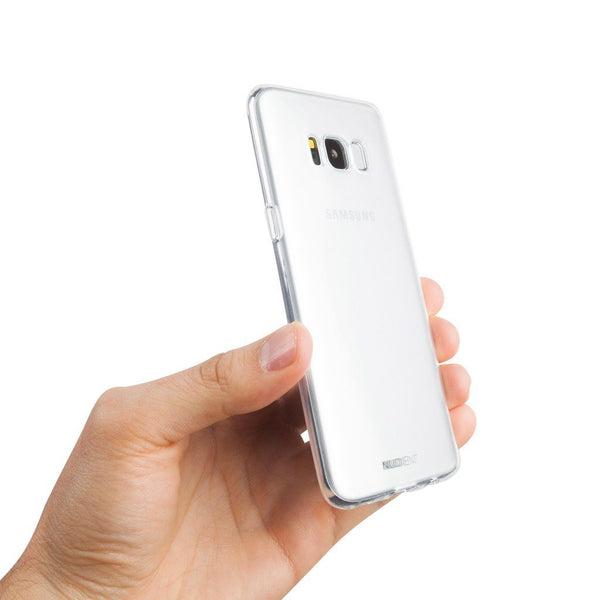 Tunt Transparent Samsung S8 skal  - 100% Transparent