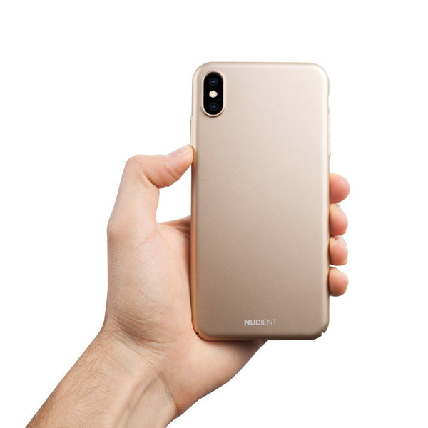 Tunt iPhone XS Max Designskal V2  - Jewelry Gold