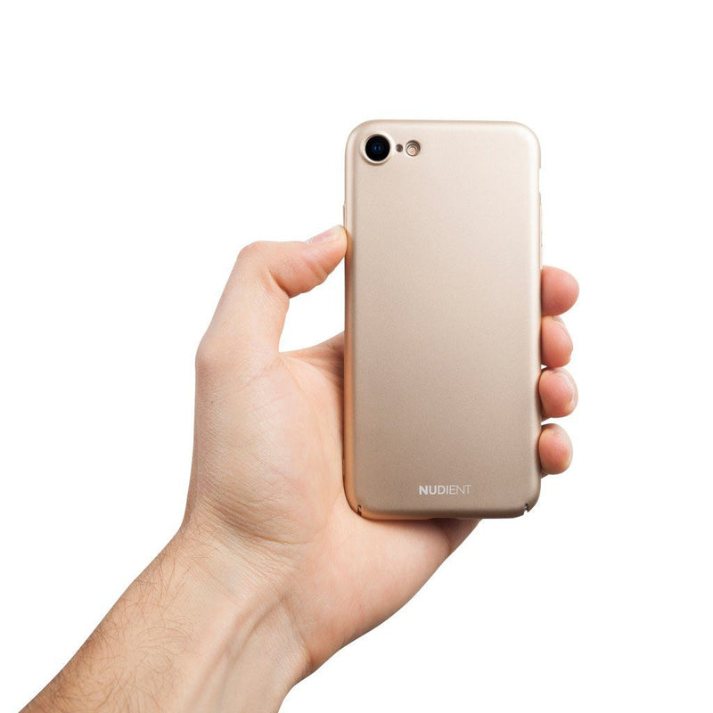 Tunt iPhone 8 Designskal V2  - Jewelry Gold