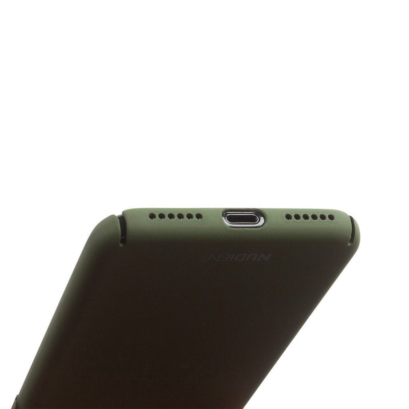 Tunt iPhone 7 Designskal V2  - Majestic Green