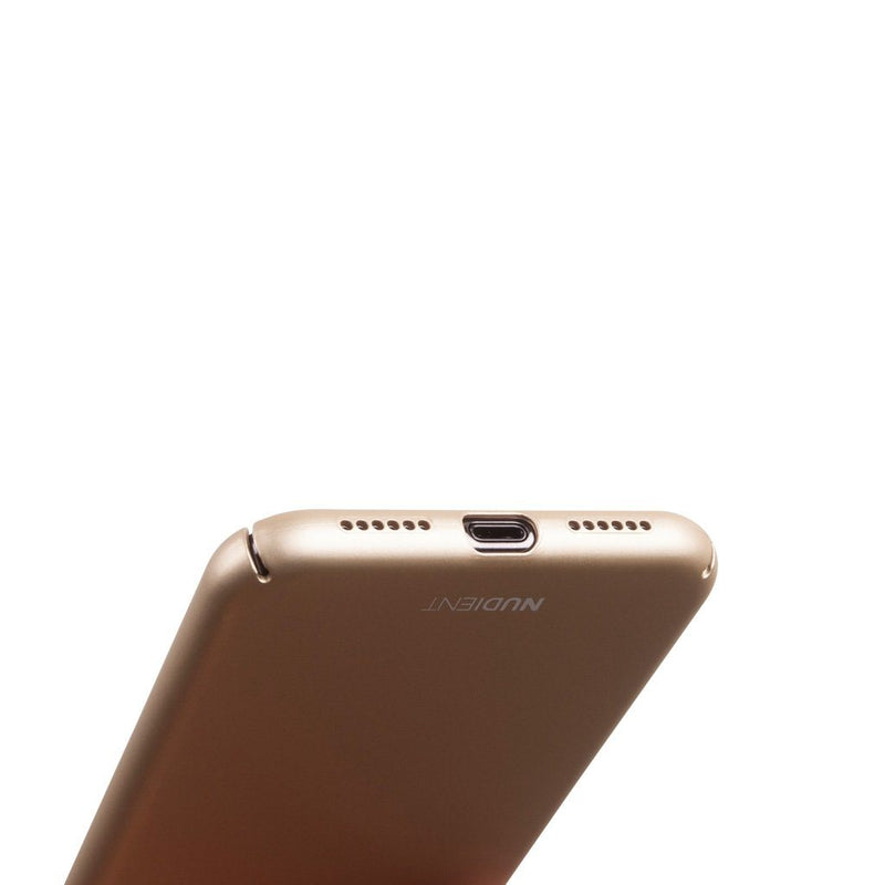 Tunt iPhone X Designskal V2  - Jewelry Gold