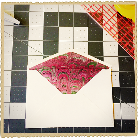Envelope Liners, Step 7