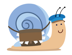 Snail Avatar for Postmark'd Studio Snail-Mail Tips