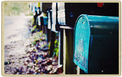 Pretty Mailboxes