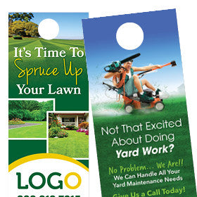 Door Hangers for Landscapers