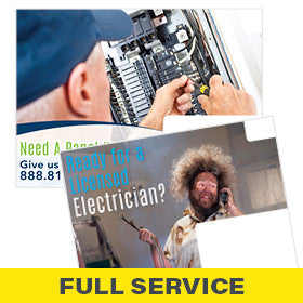 Postcards for Electrician Full-Service