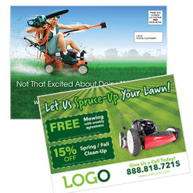 EDDM Postcard for Lawn Care