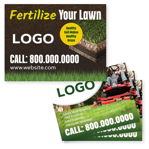 Yard Signs for Lawn Care