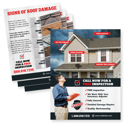Flyers For Roofers