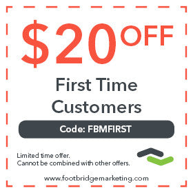 $20 off first time orders