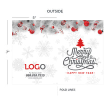 Load image into Gallery viewer, Christmas greeting card for contractors