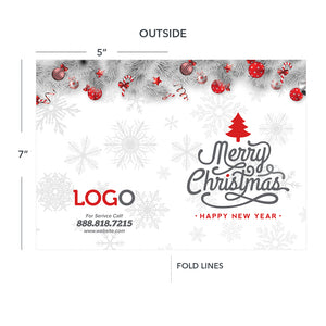 Christmas greeting card for contractors