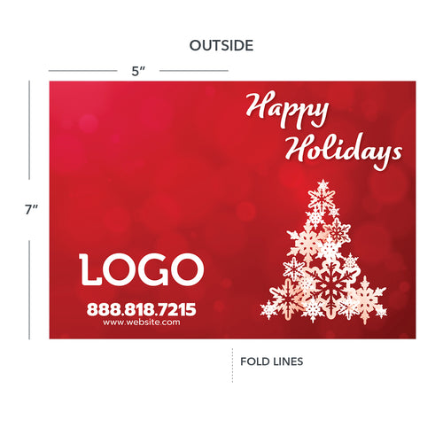 holiday contractor greeting card