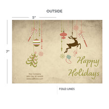 Load image into Gallery viewer, contractor holiday greeting card