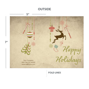contractor holiday greeting card