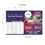 presentation folder for remodeling contractor