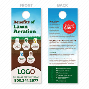 landscape aeration door hanger