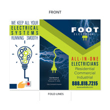Load image into Gallery viewer, electrician brochure electricity