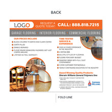 Load image into Gallery viewer, wood tile epoxy concrete flooring brochure