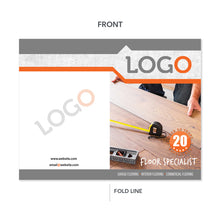 Load image into Gallery viewer, flooring contractor brochure wood flooring