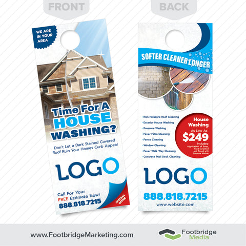 house washing door hanger design