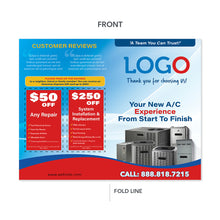 Load image into Gallery viewer, hvac system maintenance brochure