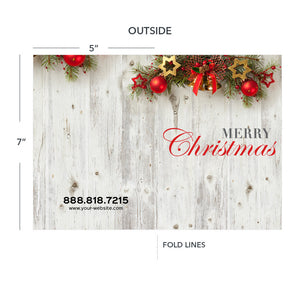 christmas greeting cards for hvac