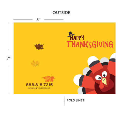 thanksgiving greeting card for hvac