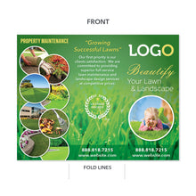 Load image into Gallery viewer, landscape and lawn maintenance brochure